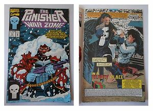 The-Punisher-War-Zone-11-Marvel-Comics-Gennaio-1993-In-a-deadly-place