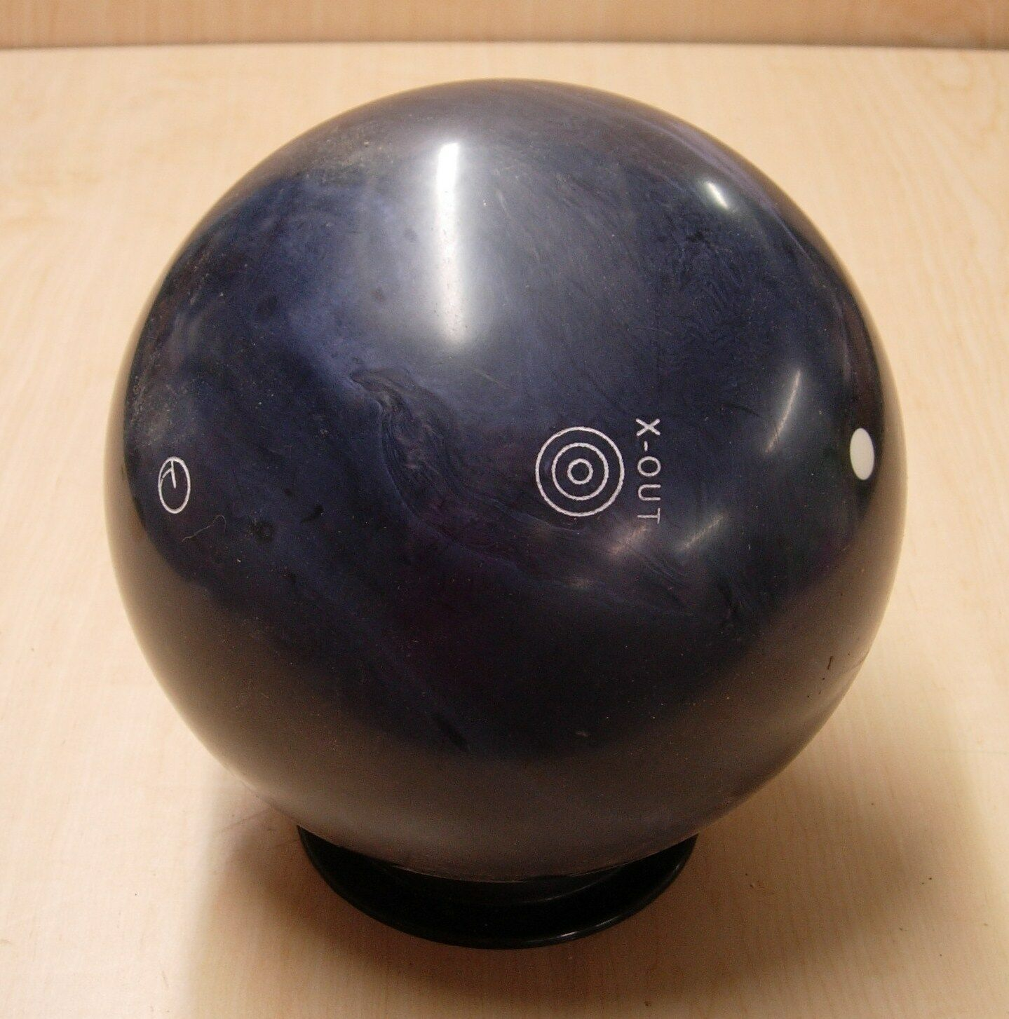 =14oz TW 1-3 4 NIB New In Box Undrilled 2011 Ebonite Mission Domination X-Out