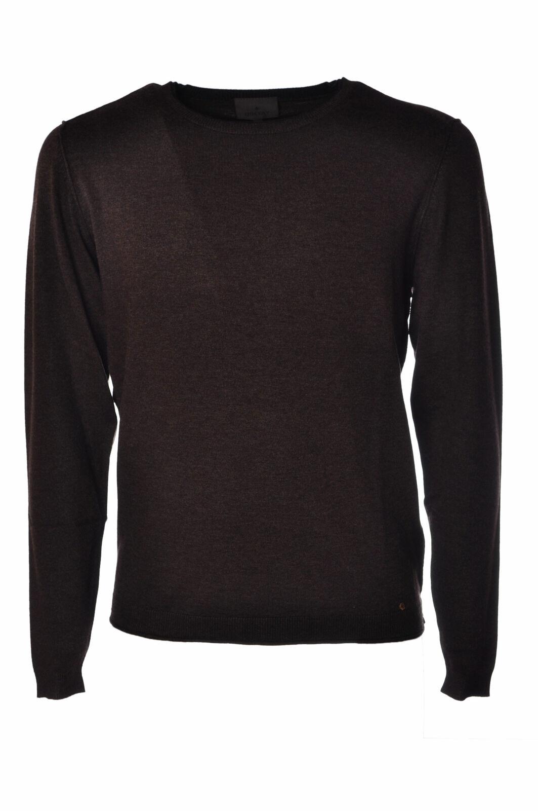 Diktat  -  Sweaters - Male - Braun - 2632619A180650