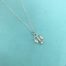 Lady Justice Scales Charm Necklace. Lawyer or Law Student Gift.