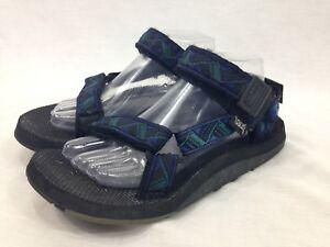 Teva Sport Sandals Unisex Womens 9 10 Mens 8 Blue Aztec Straps Trail ... ebb5d0220b