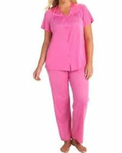 e63284bd56 Image is loading Vanity-Fair-Coloratura-Exquisite-Form-Nylon-Pajamas-size-