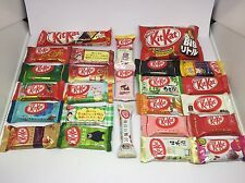 New KITKAT 25 Flavors-ASSORTED RARE Wasabi,Rum,Chili Direct from TOKYO, JAPAN