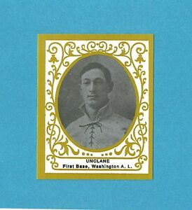 T204 Ramly Baseball Card Reprint Single Bob Unclane