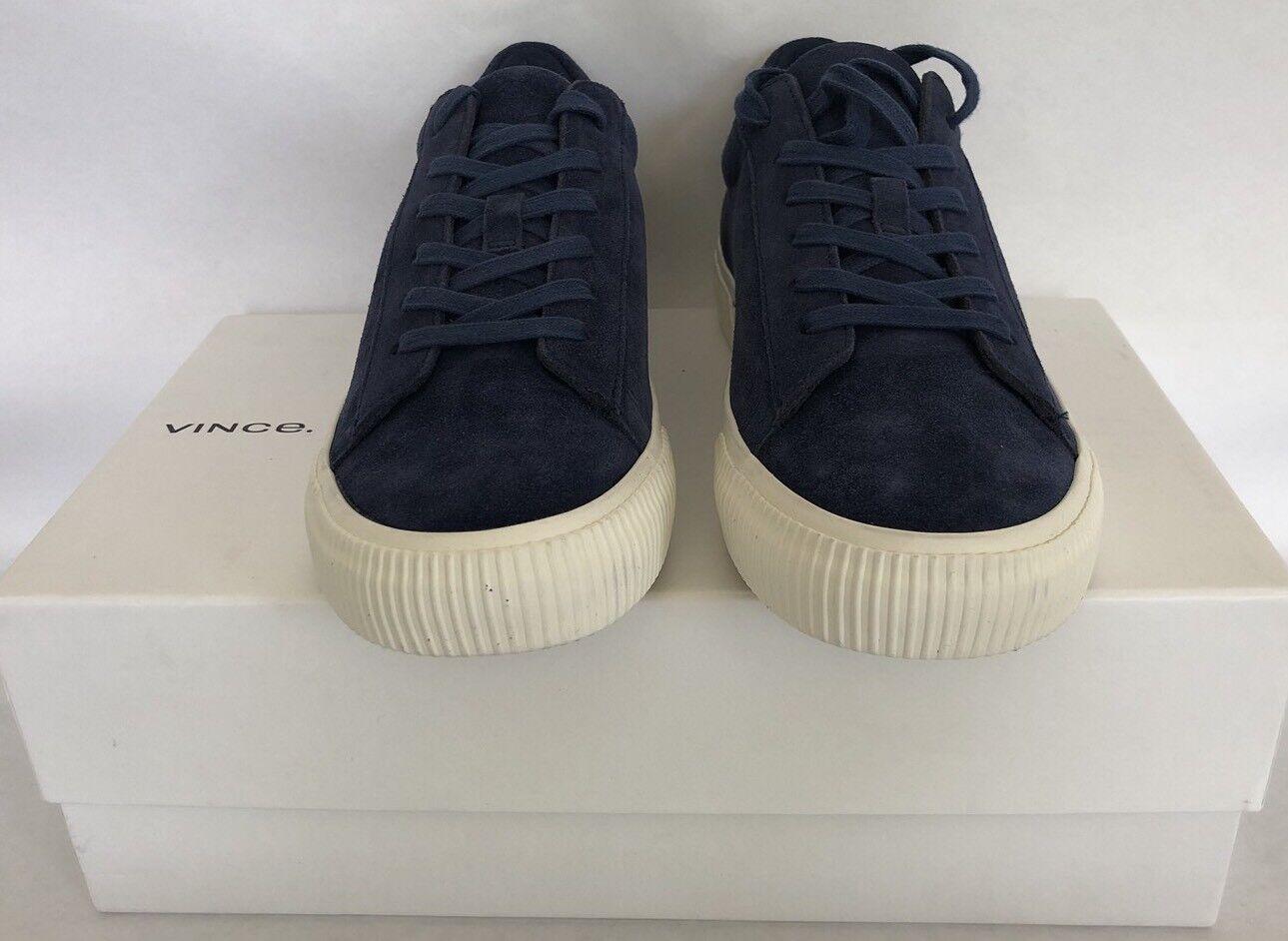 Men's Vince Suede Kurtis Sneaker in Ocean Size 7.5 - NWB