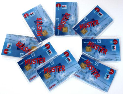 EC-Kartenhüllen 40 Stk Ausweishüllen Schutzhüllen biegsam Hülle Kartenhüllen 784