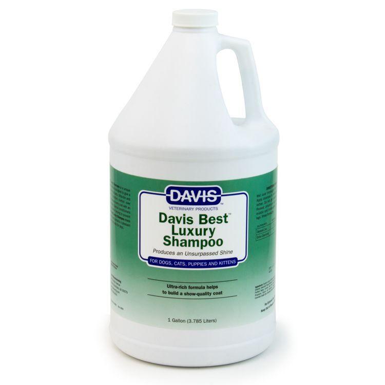 Davis Best Luxury Cat Dog Pet Shampoo 1 Gallon. 3.79 L