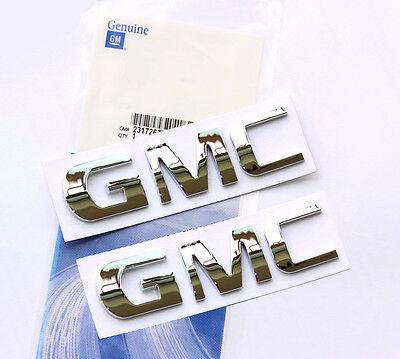 1x OEM Chrome 1500HD Nameplate EMBLEM Badge for GM Silverado Sierra 1500 HD g WU