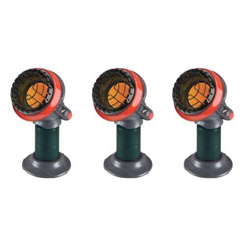 Mr Heater 3800 BTU Indoor Outdoor Portable Little Buddy Propane Heater 3 Pack