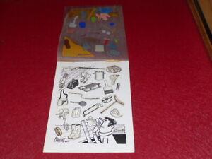 Bd-Dessin-Humoristico-Prensa-Gilbert-Cabaret-1-Original-Cartel-Colores