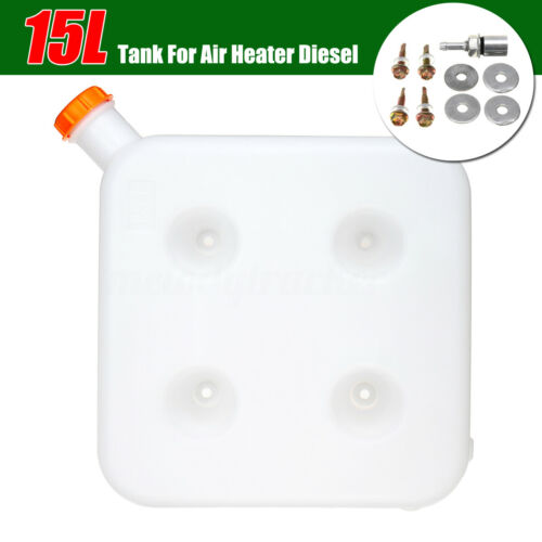 15L Plastic Fuel Oil Gasoline Tank Kit For Car Truck Air Diesel Parking Heater