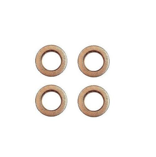 Set Of 4 For VW Beetle Fuel Injector Seals 046130219A CRP