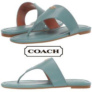 Details about COACH Jodi Thong Sandals Women's Casual Summer Comfort Flip Flops Summer Shoes
