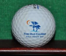 The Old Course at the Half Moon Bay Golf Links California Logo Golf Ball