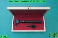 Mini Otoscope Black Color Diagnostic Set With Box, Nt-907