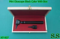 Mini Otoscope Black Color Diagnostic Set With Box, Nt-907