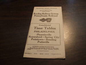 1947-PRR-READING-CONSOLIDATED-PHOENIXVILLE-POTTSVILLE-PA-JOINT-PUBLIC-TIMETABLE