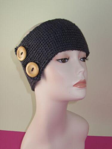 Imprimé tricot instructions 2 bouton toutes les côtes serre-tête knitting pattern
