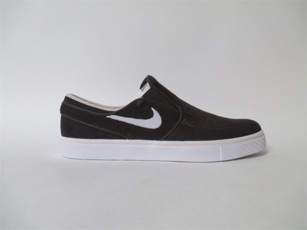 Nike SB Janoski Slip Cappuccino Sandrift White Brown Sz 8.5 833564-217