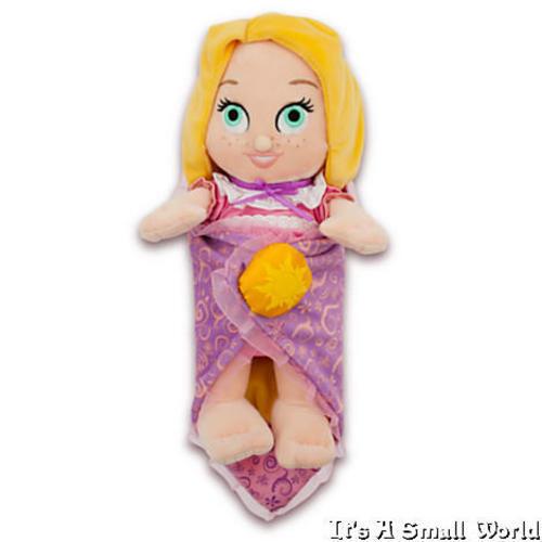 Disney Babies Pooh Ariel Rapunzel Dumbo Pegasus Thumper Baby Doll Plush Blanket