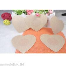 20 x Nipple Covers Breast Invisible Instant Bra Lift Sticker Tape Love Shape UK