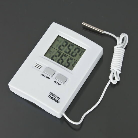 Digital LCD Thermometer Temperature Meter Tester Home Indoor Outdoor 2Y