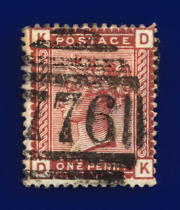 1880-SG166-1d-Venetian-Red-K3-DK-Taunton-Good-Used-Cat-15-cnkl