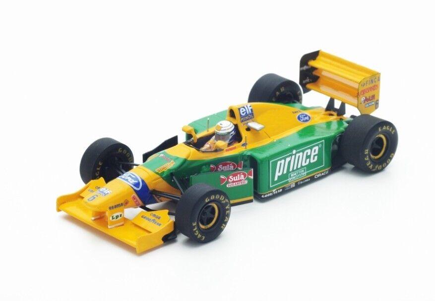 alta quaità Benetton F1  B193B  6 Monaco Monaco Monaco Gp 1993 Ricautodo Patrese Spark 1 43 S4773  prezzo ragionevole