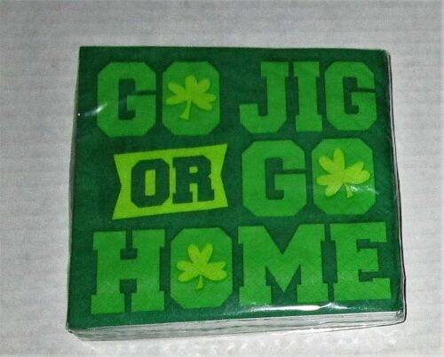 ST PATRICK/'S DAY COCKTAIL NAPKIN ASSORTMENT 20 ct 2 Ply Your Choice