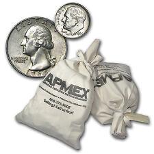 90% Silver Coins - Various Denomination - $50 Face Value Bag - SKU #68839