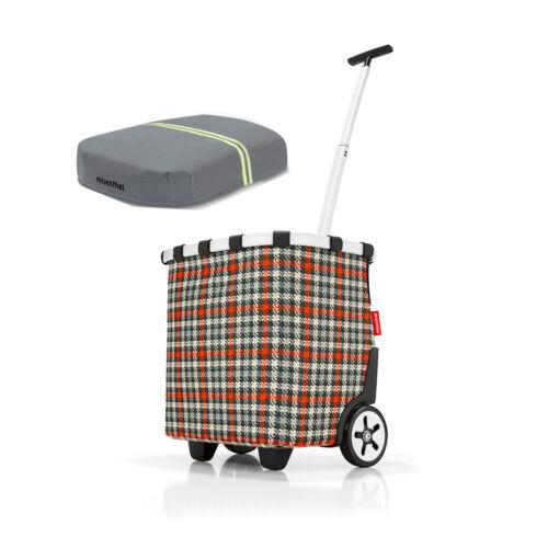 gratis Cover Einkaufswagen trolley  ALLE FARBEN reisenthel Set carrycruiser