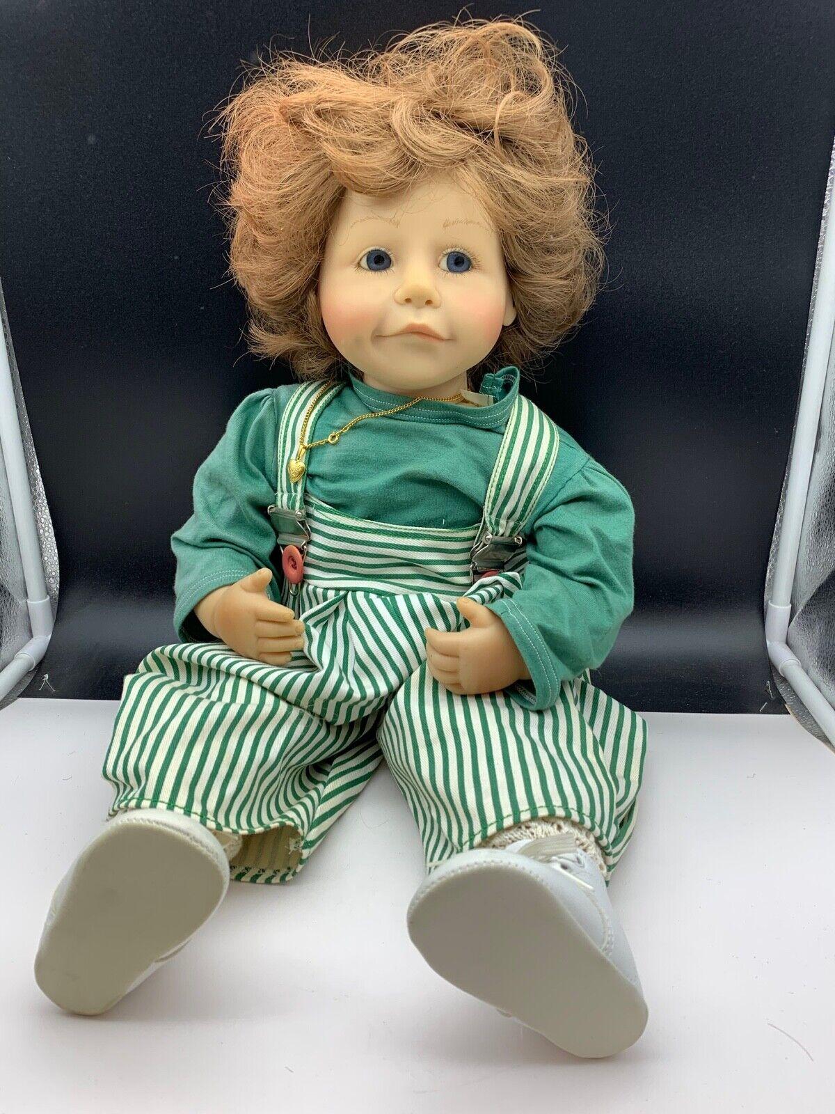 Brigitte Leuomo artista Bambola vinile bambola 59 CM. OTTIMO stato   risparmia il 60% di sconto