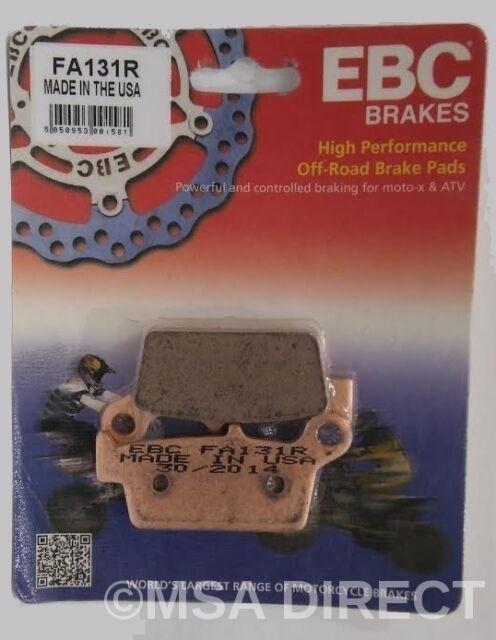 EBC Sintered REAR Disc Brake Pads (1 Set) Fits YAMAHA YZ426F (2000 to 2002)