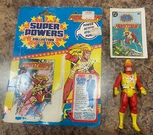 1985 Kenner Super Powers Parademon Bio Card DC Comics Vintage Action Figure