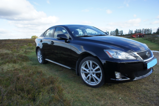 Lexus IS220d, 2,2 Sport, Diesel, 2009, km 145000, sort,…