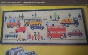 Rare-Anchor-UK-Needlecraft-Design-Centre-needlepoint-chart-The-Bus-Stop