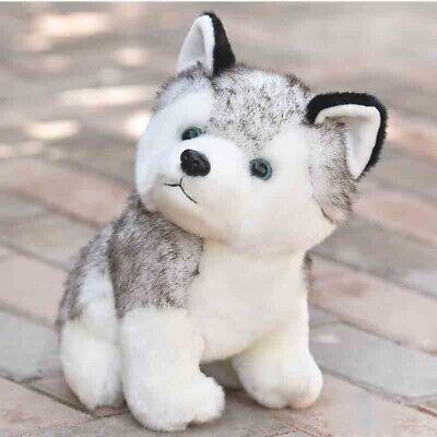 Cute Husky Dog Plush Toy Stuffed Animal Soft Wolf Pet Doll Kid Toy Gift 20CM New