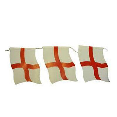 8ft X 10 Bandiere St. George Bunting Party Decorazione New Brand- Evidente Effetto