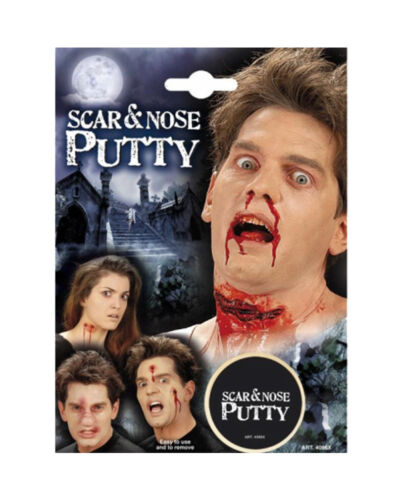 HALLOWEEN SPECIAL FX WAX NOSE MOULDING SCARS PROSTHETICS FACE PUTTY FANCY DRESS
