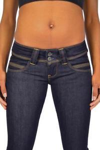 788852349a83 Das Bild wird geladen Geniale-PEPE-Jeans-VENUS-M15-tief-dunkelblau-mit-