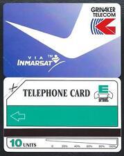 SAF - 10u Grinaker telecom via INMARSAT 1991 MINT URMET Neuve