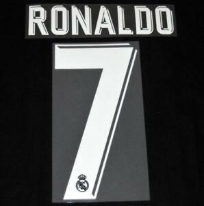 1263a14dffe Real Madrid Ronaldo 7 2017 18 Football Shirt Name Number Set ...