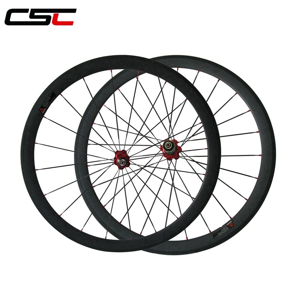 Special Assembly Technology 38mm Clincher carbon wheels tubeless compatible