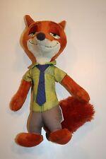 "Disney Movie Zootopia Plush Fox Nick Wilde Fox Character 11"" Stuffed Animal"