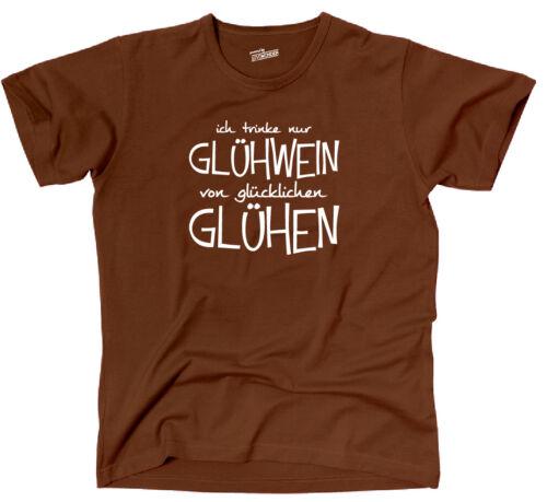 T-shirt sort vin chaud seulement de heureux recuit Fun siviwonder