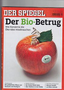 DER SPIEGEL Nr. 45/2014 #Der Biobetrug# - Hildesheim, Deutschland - DER SPIEGEL Nr. 45/2014 #Der Biobetrug# - Hildesheim, Deutschland
