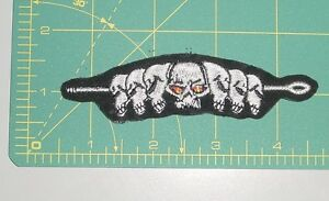Embroidered Patch - Skulls