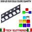 LED-3528-SMD-ALTA-LUMINOSITA-039-BIANCHI-BLU-ROSSO-VERDE-GIALLO-Diodi-PLCC miniature 1