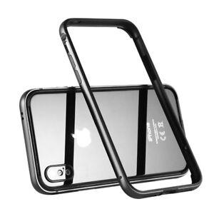 iPhone-x-CUSTODIA-Benks-Alurahmen-0-4MM-Egida-Cover-Bumper-protettiva-Nero
