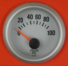 S4 Oil Pressure gauge 1/8npt Sender & blue light Evo Galant Legnum GTO FTO Colt